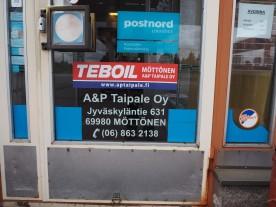 Huoltoasema osoitteessa Möttönen.